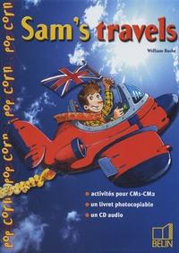 William Roche - Sam's travels CM1-CM2. 1 CD audio