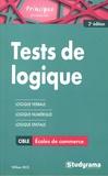William Seck - Tests de logique aux concours des écoles de commerce.