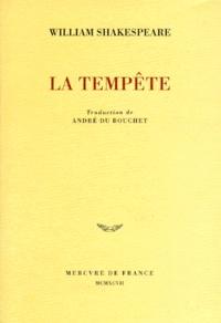 William Shakespeare - La Tempête.