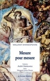 William Shakespeare - Mesure pour mesure.