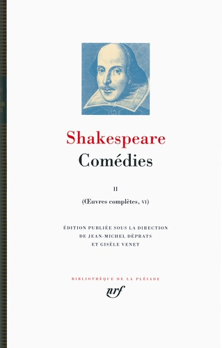 William Shakespeare - Oeuvres complètes - Volume 6, Comédies Tome 2.