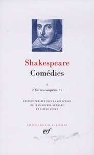 William Shakespeare - Oeuvres complètes - Volume 5, Comédies Tome 1.