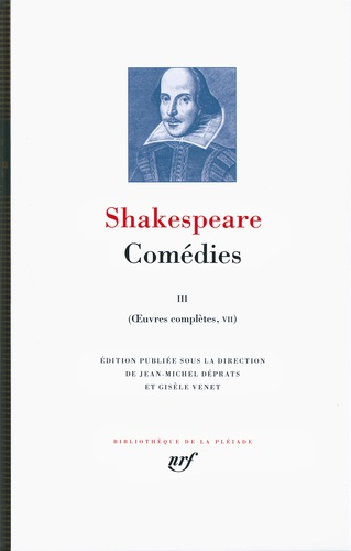 William Shakespeare - Oeuvres complètes - Volume 7, Comédies Tome 3.