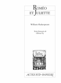 Roméo et Juliette - William Shakespeare - Format PDF - 9782330112158 - 11,99 €
