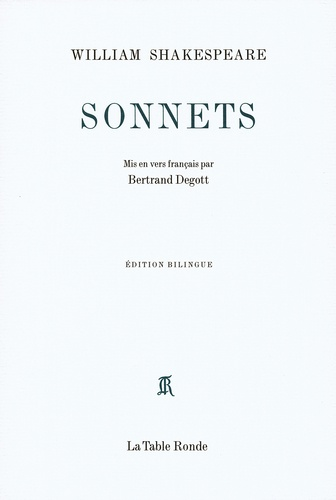Sonnets. Edition bilingue français-anglais