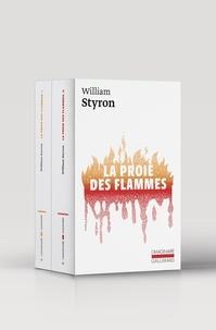 William Styron - La proie des flammes - Coffret en 2 volumes : Tome 1 et Tome 2.