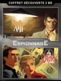 William Vance et Jean Van Hamme - Le meilleur de la bande dessinée Espionnage - Coffret découverte 2 BD : XIII Tome 1, Le jour du soleil noir ; Alpha Tome 1, L'échange.
