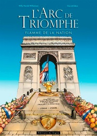 Willy Harold Williamson et Guy Lehideux - L'Arc de triomphe - Flamme de la nation.