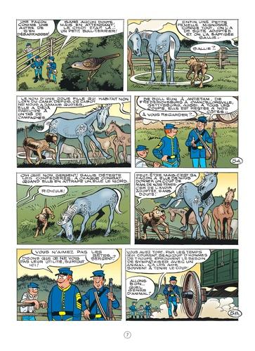 Les Tuniques Bleues Tome 62 Sallie