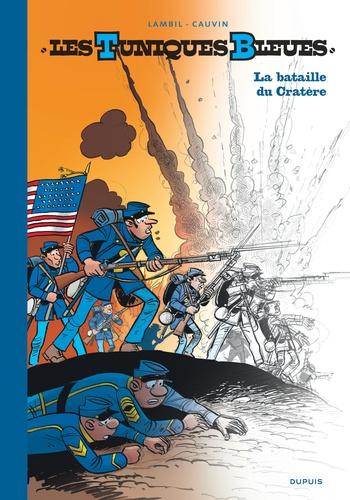 Willy Lambil et Raoul Cauvin - Les Tuniques Bleues Tome 63 : La bataille du cratère - Avec un carnet de croquis.