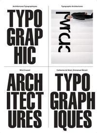 Wim Crouwel et Smet catherine De - Architectures typographiques.