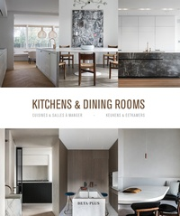 Wim Pauwels - Kitchens & Dining Rooms - Edition anglais-français-néerlandais.