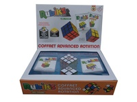 WIN GAMES - Coffret Rubik's cube Advanced Rotation  -   1 rubik's 3x3 + 1 rubik's 2x2
