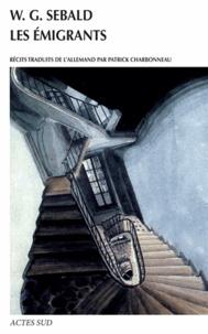 Winfried Georg Sebald - Les émigrants - Quatre récits illustrés.