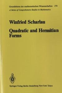 Winfried Scharlau - Quadratic and Hermitian Forms.