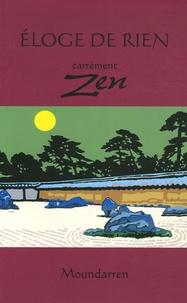 Wing Fun Cheng et Hervé Collet - Eloge de rien - Carrément zen.