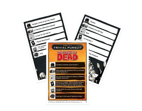 Trivial Pursuit The Walking Dead ( Comic Book)