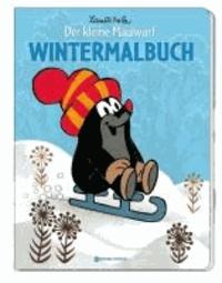 Wintermalbuch - Der kleine Maulwurf - Mit vielen Stickern.