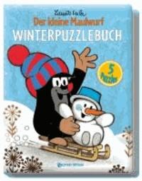Winterpuzzlebuch - Der kleine Maulwurf - 5 Puzzles.