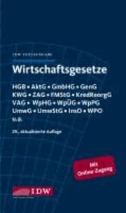 Wirtschaftsgesetze - IDW Textausgabe.
