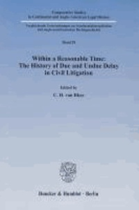 Within a Reasonable Time: The History of Due and Undue Delay in Civil Litigation.