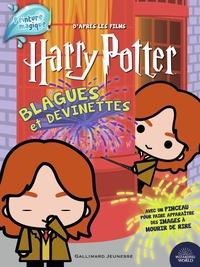 Wizarding World - Blagues et devinettes Harry Potter - Avec 1 pinceau.