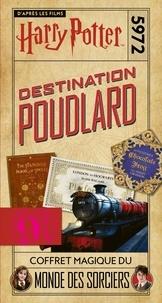 Wizarding World - Destination Poudlard - Coffret magique du monde des sorciers - Avec un carnet ligné, un crayon, un marque-page et un bloc-notes.