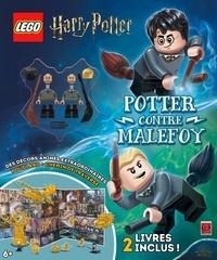 Wizarding World et  Lego - LEGO Harry Potter - Potter contre Malefoy. Avec 2 livres : Deux rivaux à l'école ; Gryffondor contre Serpentard.