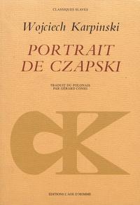 Wojciech Karpinski - Portrait de Czapski.