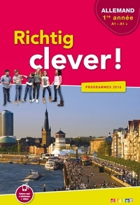 Galabria.be Richtig clever! Allemand LV2 1re année A1-A1+ Image
