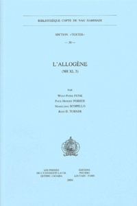 Wolf-Peter Funk et Paul-Hubert Poirier - L'allogène - (NH XI, 3).