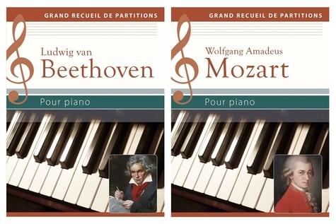 Wolfgang Flödl - Ludwig van Beethoven, Wolfgang Amadeus Mozart pour piano - Coffret 2 volumes.