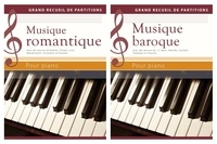 Wolfgang Flödl - Musique romantique, musique baroque pour piano - Coffret 2 volumes.