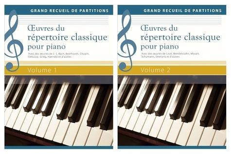 Wolfgang Flödl - Oeuvres du répertoire classique pour piano - Coffret  2 volumes.