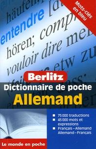 Wolfgang Löffler et Kristin Wäeterloos - Allemand - Dictionnaire de poche français-allemand et allemand-français.
