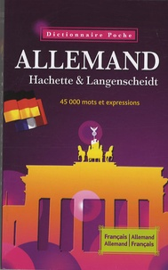 Openwetlab.it Dictionnaire Allemand Hachette Langenscheidt Français-Allemand, Allemand-Français Image