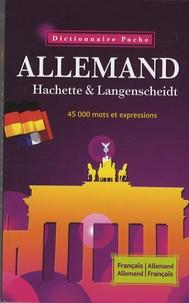 Wolfgang Löffler et Kristin Wäeterloos - Dictionnaire Allemand Hachette Langenscheidt Français-Allemand, Allemand-Français.