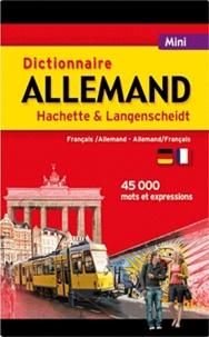 Coachingcorona.ch Dictionnaire Allemand Hachette & Langenscheidt - Français-allemand, allemand-français Image