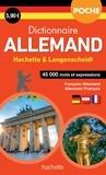 Wolfgang Löffler et Kristin Wäeterloos - Dictionnaire allemand Hachette Langenscheidt - Français-allemand, allemand-français.