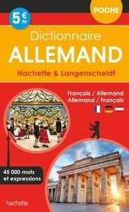 Wolfgang Löffler et Kristin Wäeterloos - Dictionnaire Hachette & Langenscheidt de Poche - Français-allemand, allemand-français.