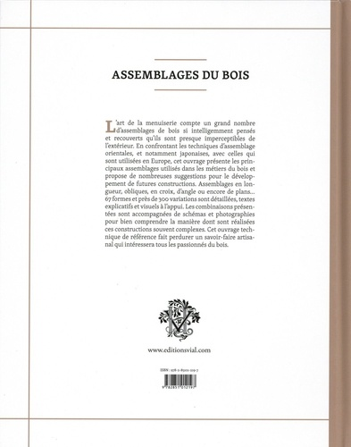 Assemblages du bois. L'Europe et le Japon face à face