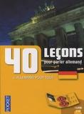 Wolfram Klatt et Jean-Paul Vernon - 40 leçons pour parler allemand. 2 CD audio
