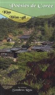 Wong-gil Kim - Poésies de Corée.