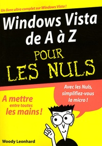 Woody Leonhard - Windows Vista de A à Z.