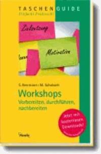 Workshops - vorbereiten, durchführen, nachbereiten.