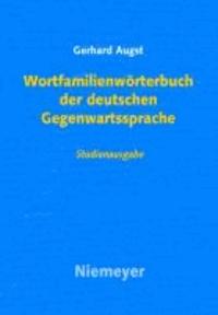 Wortfamilienwörterbuch der deutschen Gegenwartssprache.
