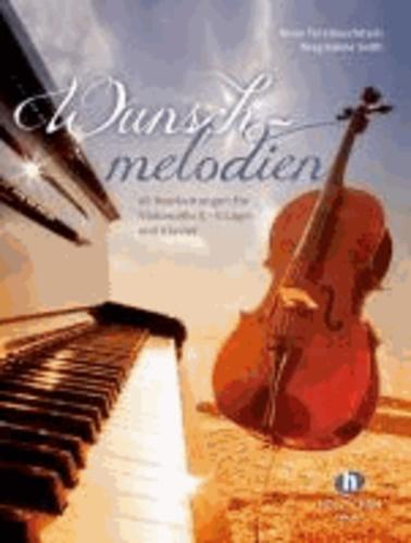 Wunschmelodien - Mappe mit Klavier- und Cellostimme.