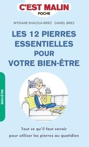 Wydiane Khaoua-Briez et Daniel Briez - Les 12 pierres essentielles pour votre bien-être.