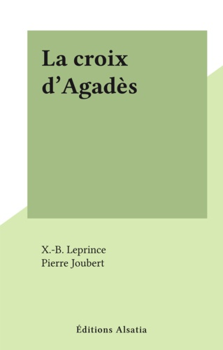 La croix d'Agadès