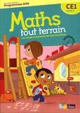 Xavier Amouyal et Alfred Errera - Mathématiques CE1 Cycle 2 Maths tout terrain - Les maths à la portée de tous les élèves.